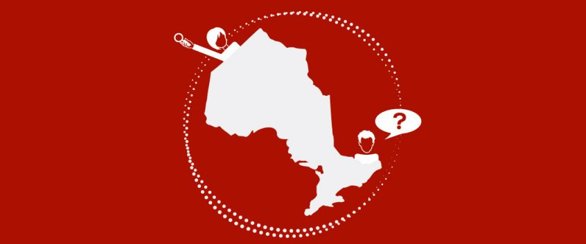 Researchers emerge from different corners of Ontario. One has a question and one has a magnifying glass.