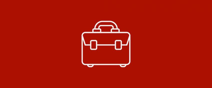 An icon of a briefcase.