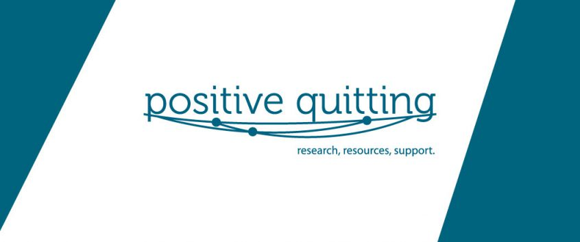 The Positive Quitting logo.