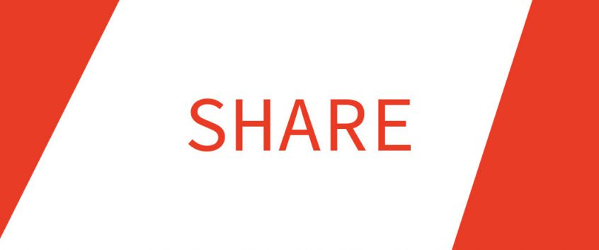 The SHARE wordmark.