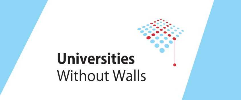 The Universities Without Walls logo.