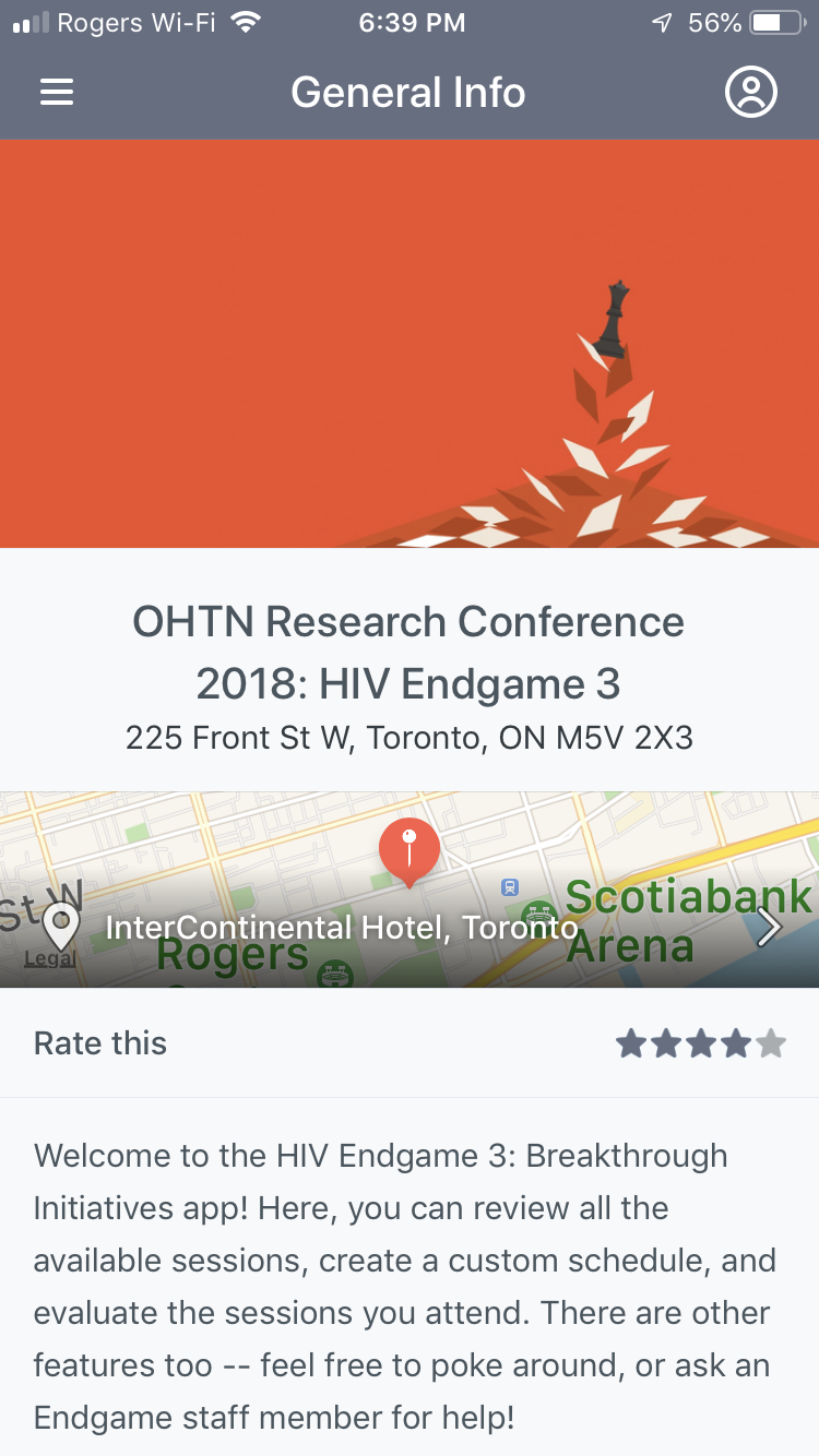 HIV Endgame 3: Breakthrough Initiatives Conference App | The