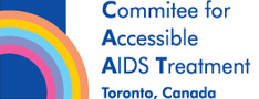 Committee for Accessible AIDS treatment CAAT logo